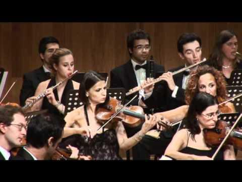 Bruch violin concerto 2nd mov. - Lilia Donkova,  Maestro Peter Tiboris