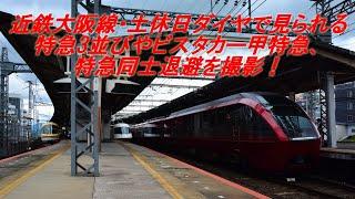 近鉄大阪線・土休日ダイヤで見られる特急(ビスタカー甲特急など)を撮影