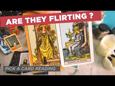 Are They Flirting With Me? 💞 TAROT PICK A CARD LOVE READING 🔮 (UNINTENTIONAL ASMR)