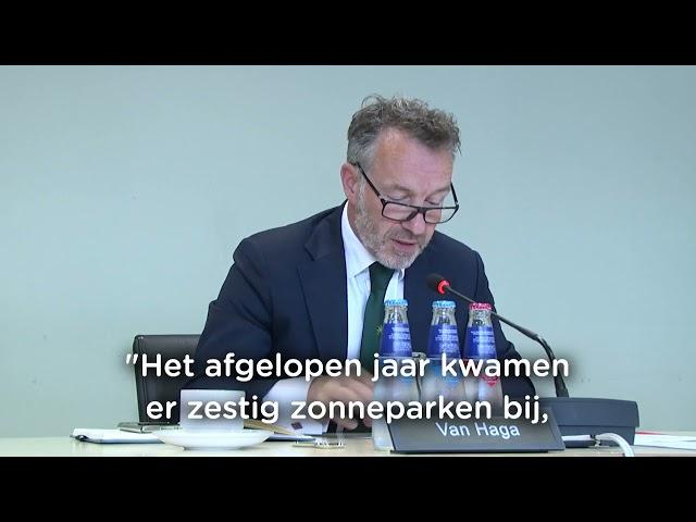 Debat over energie en klimaat   10-06-2021