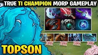 TOPSON Show us the True Way to Play Morphling in Dota 7.19c