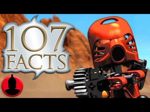 107 LEGO Bionicle Facts -  LEGO Week! (Tooned Up #234) | ChannelFrederator