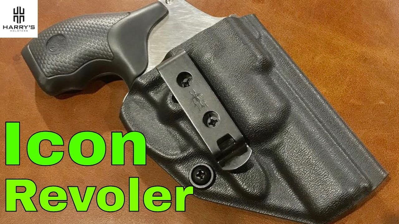 Icon: Minimalist Kydex Revolver Holster - Lightweight and Secure