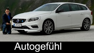 Volvo V60 & S60 Polestar FULL REVIEW test driven new neu - Autogefühl