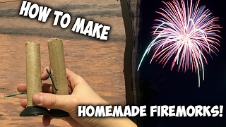 How To Make A Homemade Firework! (mortar+shell)