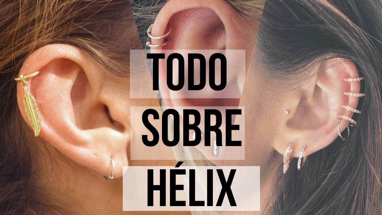 El cartilago oreja para la piercing un cuidados de en