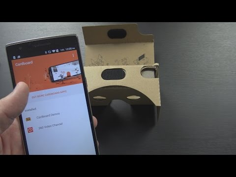 OnePlus Cardboard VR Headset Unboxing, Setup, and First Impressions!