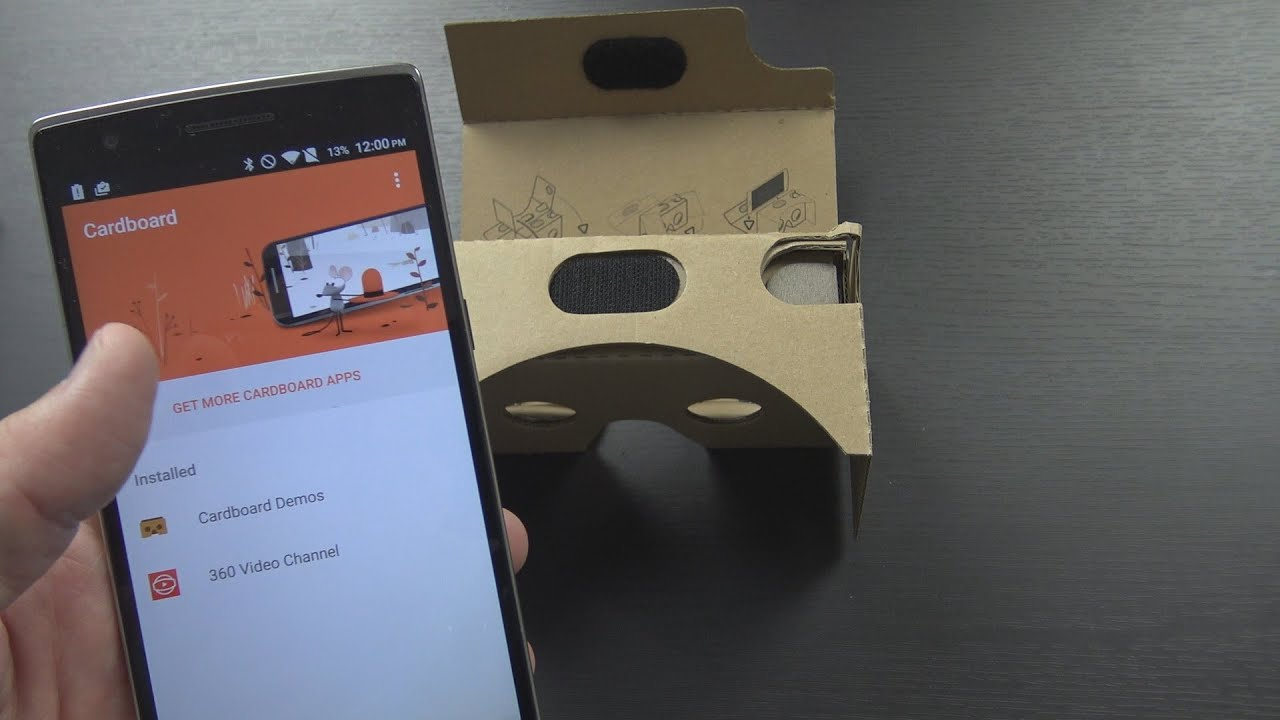 Oneplus Cardboard Vr Headset Unboxing Setup And First Impressions