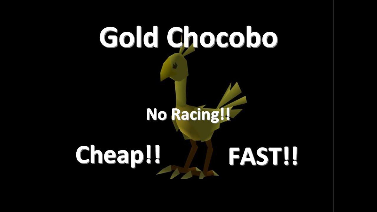 fastest gold chocobo ff7