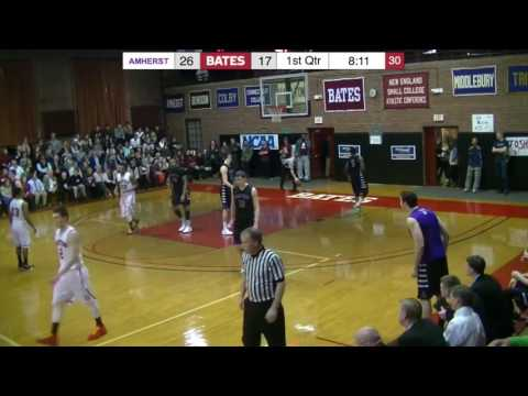 Amherst College vs Bates College 2016