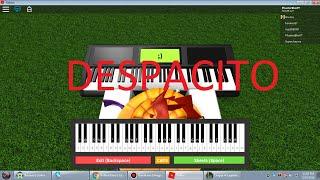 Roblox Piano Of Despacito