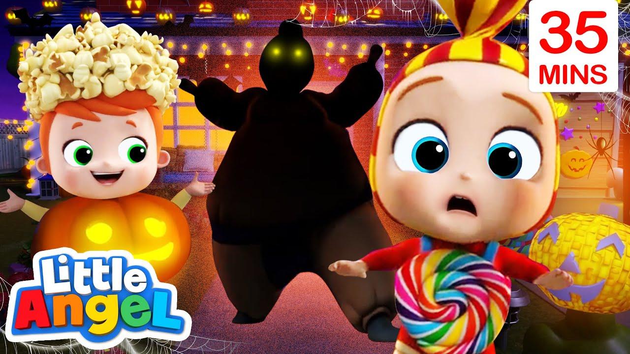 Scary Monsters, Happy Halloween! + More Little Angel Kids Songs & Nursery Rhymes