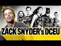 Zack Snyder's Original DCEU Plans