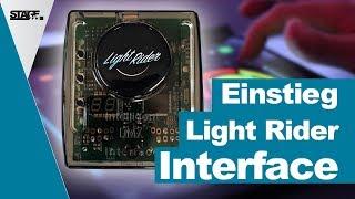 Wie schließe ich das Light Rider Interface an? - Schnelleinstieg   stage.college