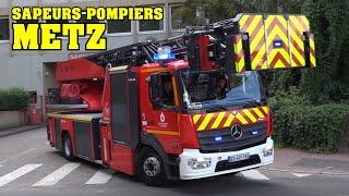 *METZ* [SDIS 57] - Départs Sapeurs-Pompiers de la Moselle (CIS Principal de Metz)