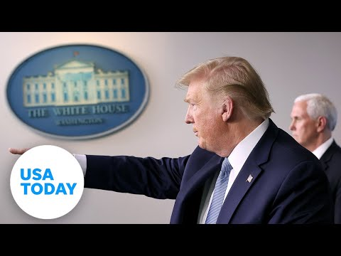 President Trump and the coronavirus task force update on pandemic – Wednesday, April 8   USA TODAY