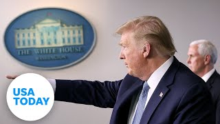 President Trump and the coronavirus task force update on pandemic - Wednesday, April 8 | USA TODAY