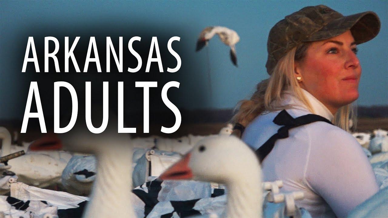 6292bb7de38ef Arkansas Adults | Snow Goose Hunting Smart Old Birds - YouTube