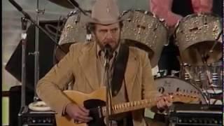 President Reagan Watches Merle Haggard Performance at Rancho Sierra Grande on March 7, 1982