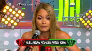 Michela le da una advertencia a Hosana