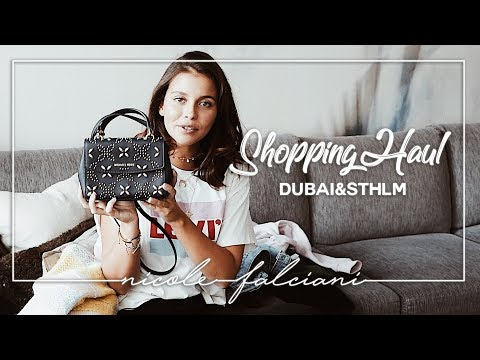 DUBAI & STOCKHOLM SHOPPING HAUL - Nicole Falciani