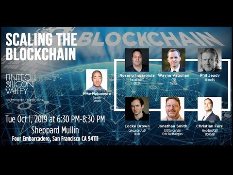 Scaling the Blockchain LIVESTREAM