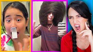 Pero PORQUÉ Hacen ESOOO?! 😱 Reaccionando a Hair Fails Arruinan su Cabello 🔥 Sandra Cires Play