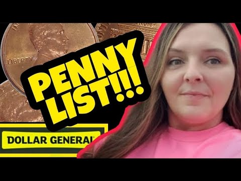 Penny Shopping List & Free Stuff At Dollar General