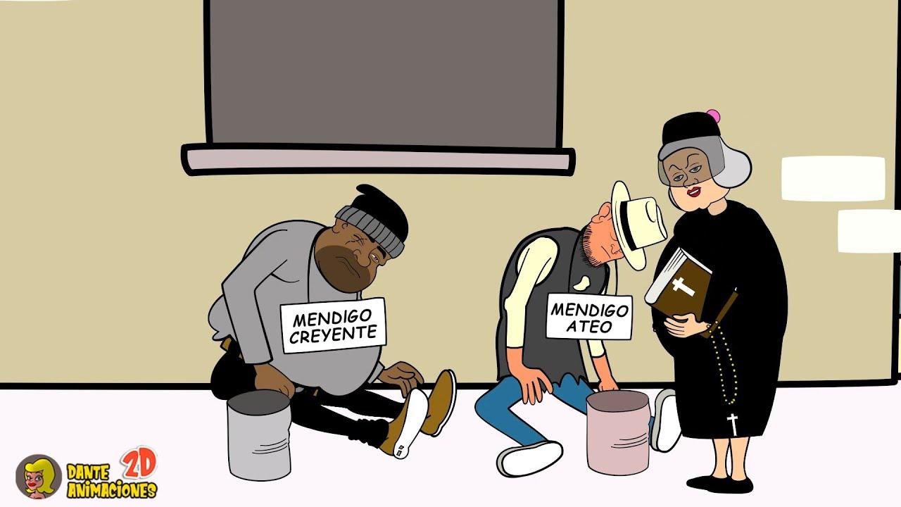 El mendigo ateo