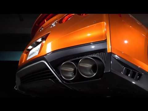 Показан новый спорткар Nissan GT-R