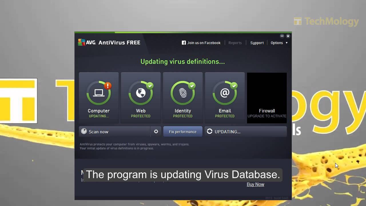 AVG 2015 Free AntiVirus setup