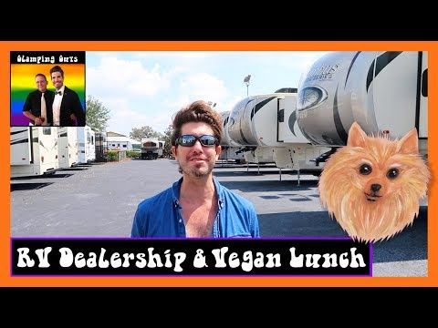 RV Tour - RV Living - RV Life - Airstream RV Tour - Fifth Wheel Tour - Lunch at Ethos Vegan Kitchen