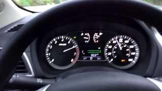 2014 Nissan Sentra 1.8L CVT WOT 0-80 & Kickdown (Sport Mode)