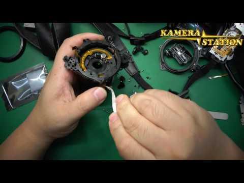 How fix repair change scratchs Lens on Canon PowerShot G10 G11 G12
