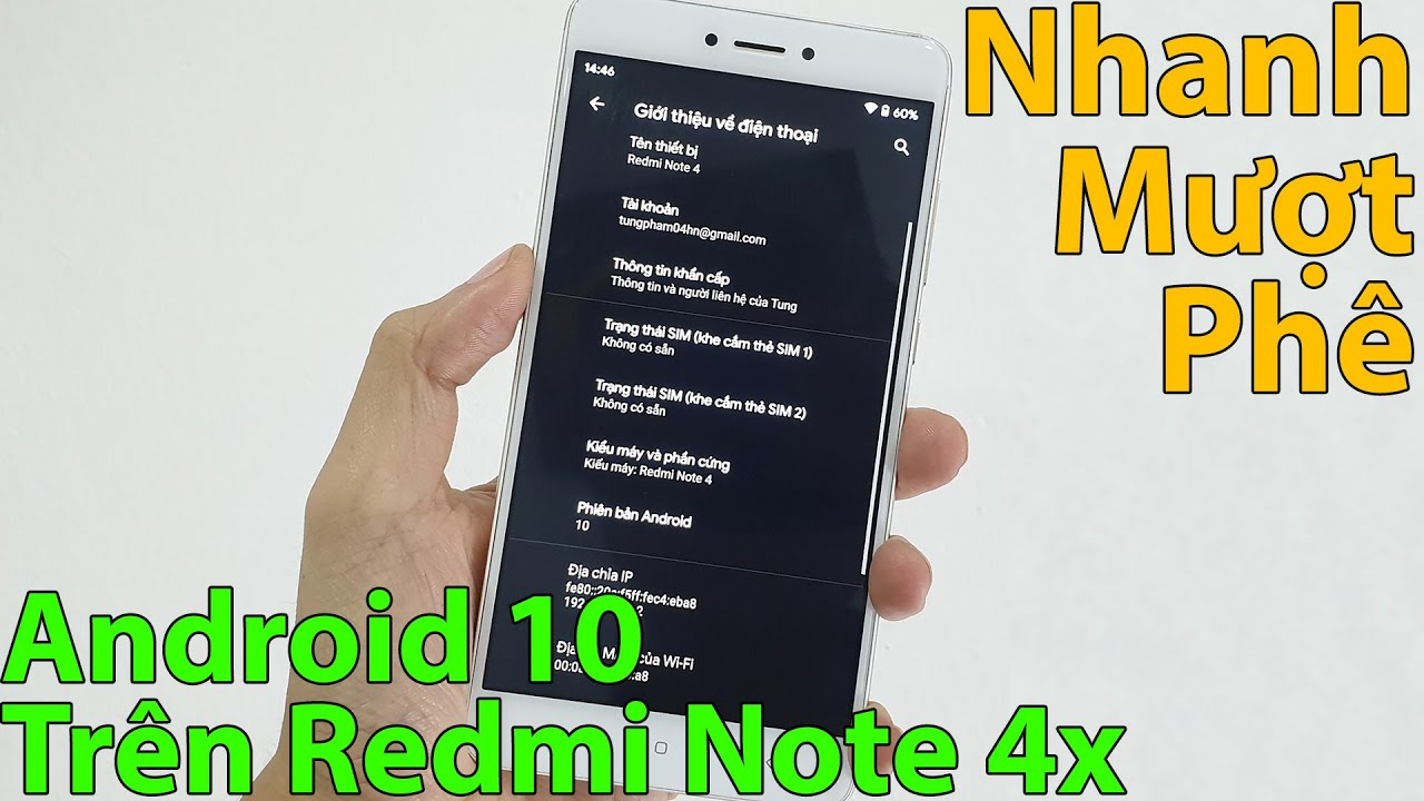 PHÊ! Xiaomi Redmi Note 4x Cũ Chạy Android 10 | Mua Điện Thoại Cũ Giá Rẻ | Mua Hàng Online Shopee