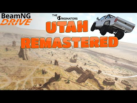 BeamNG.Drive Utah REMASTERED Trailer
