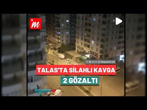 Talas'ta Silahlı Kavga 2 Gözaltı