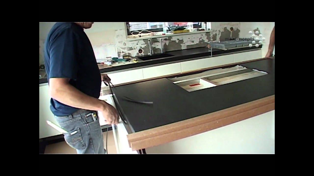 Idee doorlopend blad kookeiland en bar keuken t