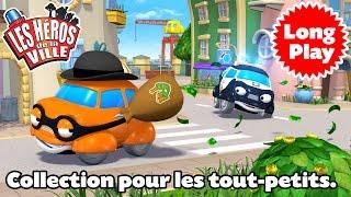 Les Héros de la Ville 2 – Compilation 1 – Dessin animé pour la maternelle.