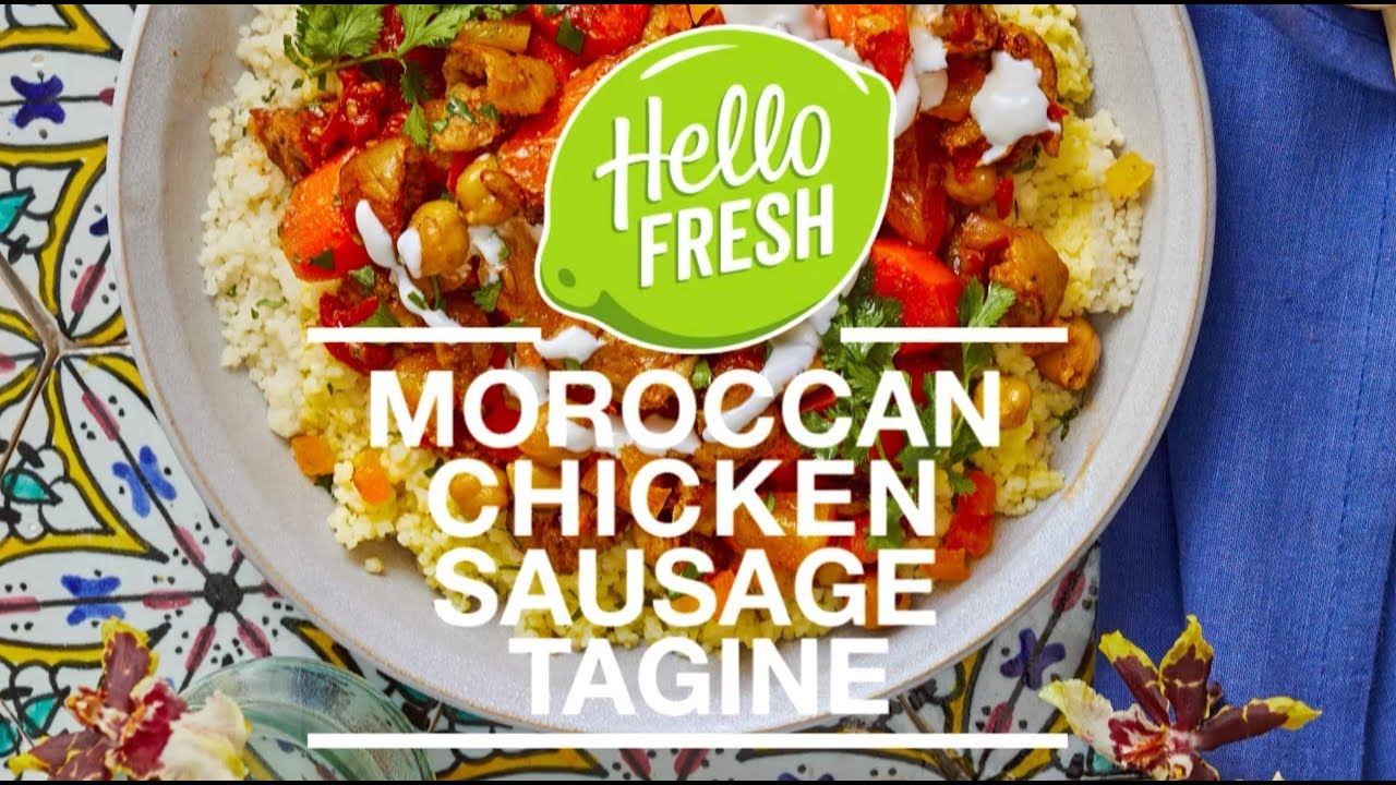 Moroccan Chicken Sausage Tagine