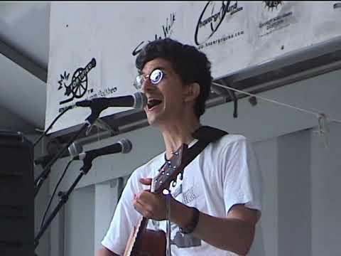 Peter Dizozza Segment at Tompkins Square Park Summer 2000 Antifolk Fest