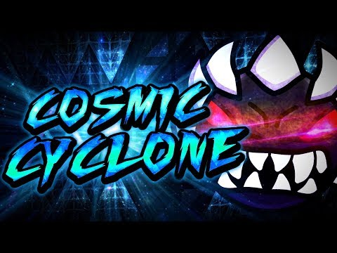 Geometry Dash | Cosmic Cyclone | Preview #1