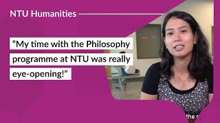 Further Studies at NTU School of Humanities: Shalom