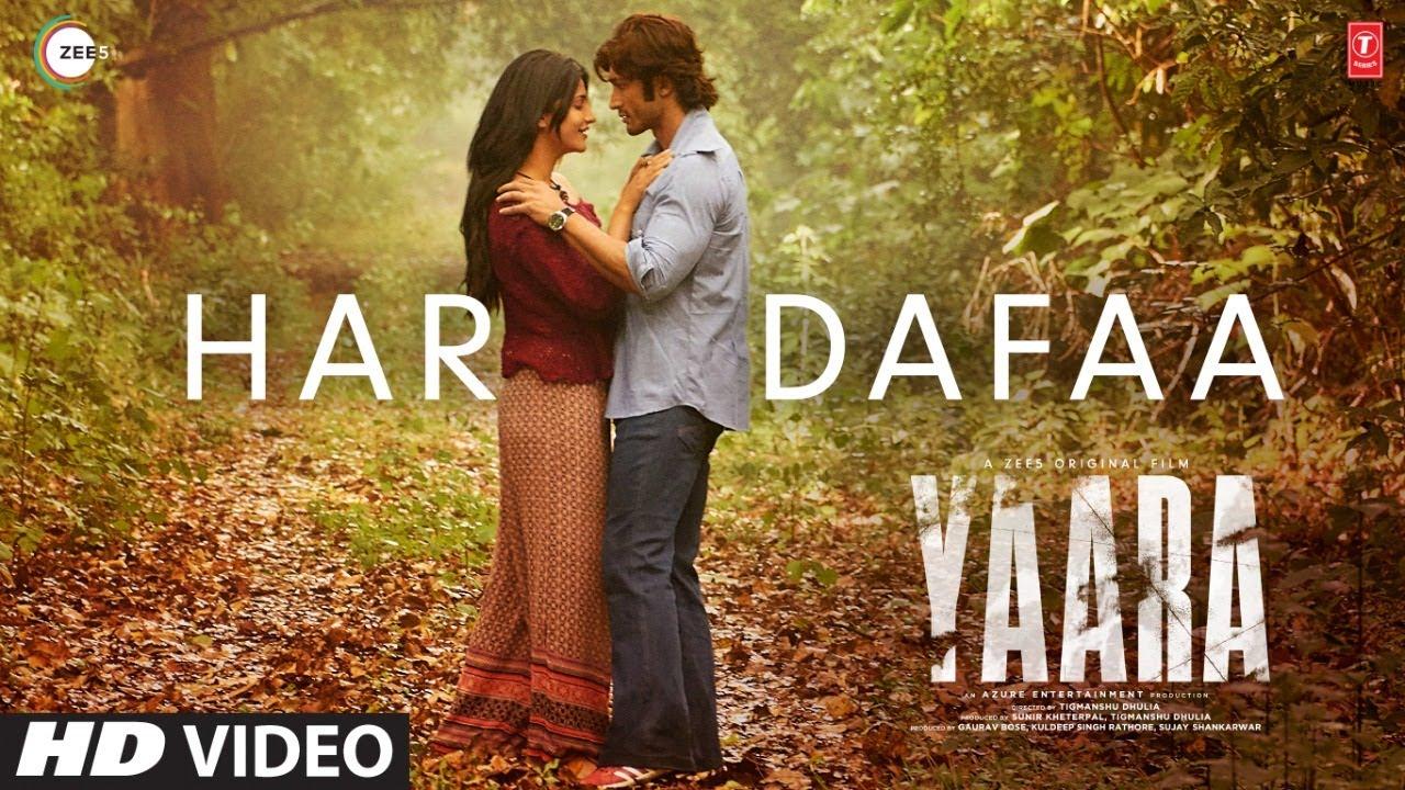 Download Har Dafaa Video   Yaara   Vidyut Jammwal, Shruti Haasan   Shaan, Shruti Rane   Gourov-Roshin