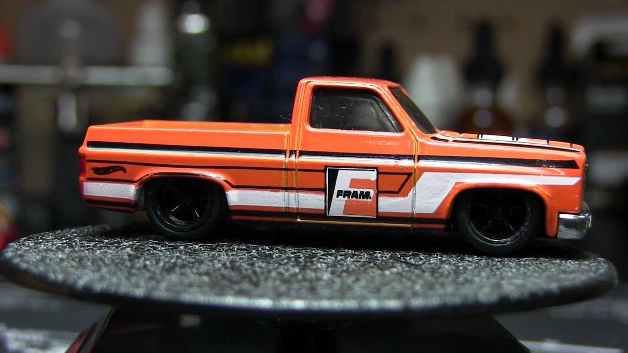 2015 Hot Wheels /'83 Chevy Silverado  FRAM
