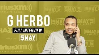 G Herbo Speaks on Tupac Influence + Breaks Down Lyrics on Sway in the Morning