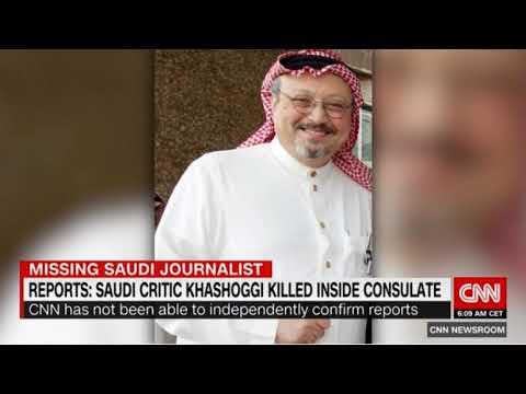 Report: Saudi Journalist Khashoggi Killed Inside Saudi Arabian Consulate In Turkey