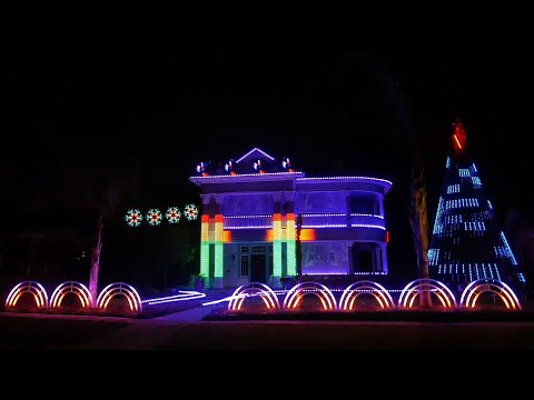 The Force is Strong in Texas Holiday Lights