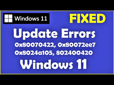Windows 11 - How to Fix Windows 11 Update Errors