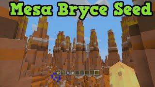 Minecraft Seeds: MESA BRYCE & Diamonds At Spawn TU31 Seed